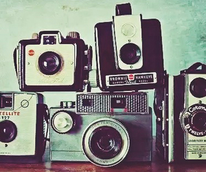 camera, vintage, and photographer image