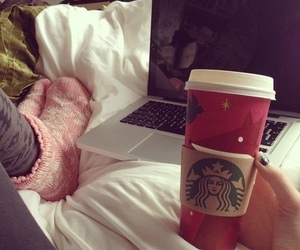 starbucks, coffee, and relax image