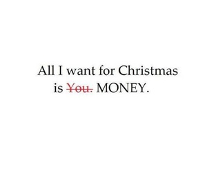 money and christmas image