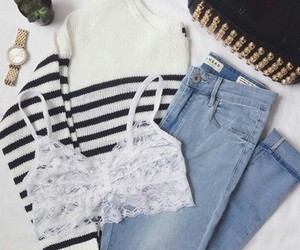 outfit, girls, and moda image