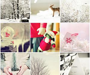 christmas, holiday, and snow image