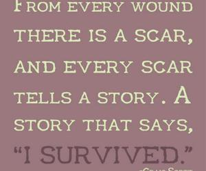 scar, story, and survived image