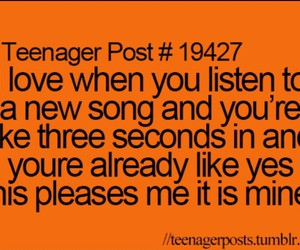 song, true, and teenager post image