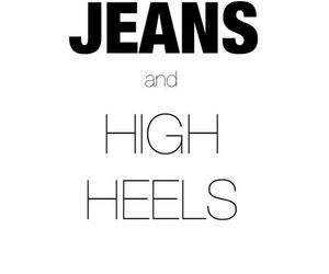 jeans, fashion, and quotes image