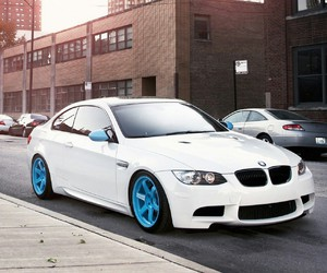 bmw, cars, and m5 image