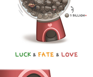 love, fate, and luck image