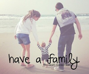 girl, love, and family image