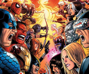battle, comics, and fight image