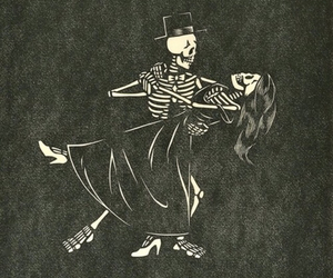 skeleton, love, and dance image
