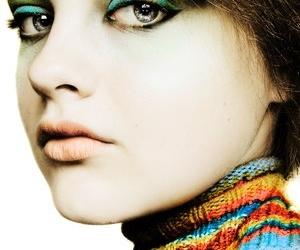 girl, face, and makeup image