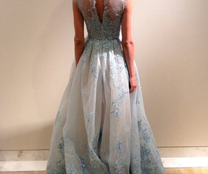 blue, Couture, and design image