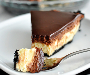 cheesecake, mousse, and ganache image