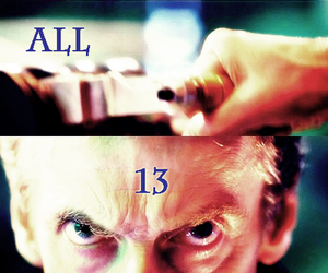 doctor who, peter capaldi, and 13th doctor image
