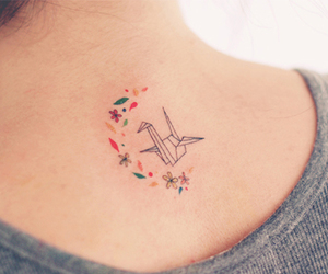 tattoo and origami image
