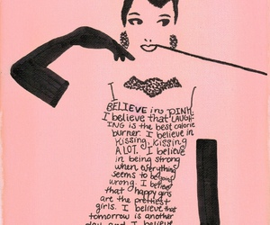audrey hepburn, quotes, and girly image
