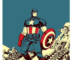 captain america, the avengers, and steve rogers image
