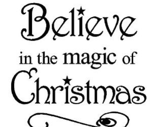 christmas, quotes, and believe image