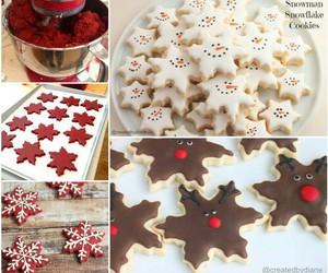christmas, Cookies, and chocolate image