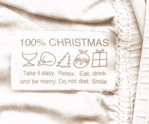 christmas, diet, and smile image