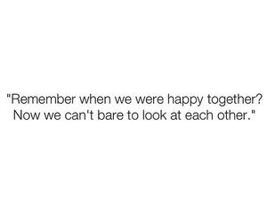 happy, sad, and together image