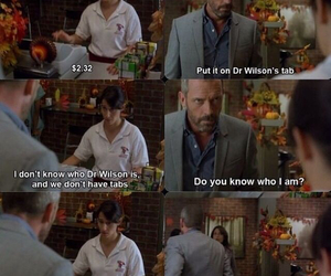 dr house, funny, and sarcasm image