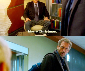 christmas, quote, and dr house image