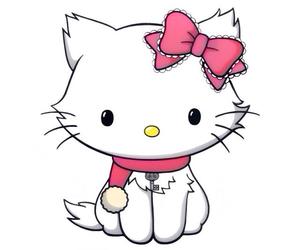 charmmy kitty, hello kitty, and sanrio image