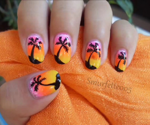 beauty, video, and nail art image