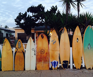 summer, surf, and friends image