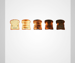 graphic design and toast image