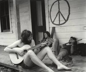 counterculture, flower power, and hippies image