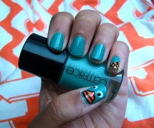 color, nail, and perry image