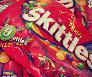 bonbons, couleurs, and skittles image