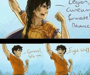 greeks, lol, and percy jackson image