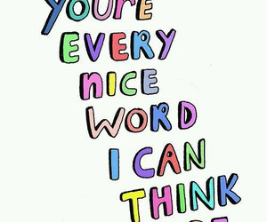 quotes, nice, and words image