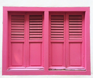 pink and window image