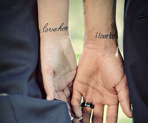 hands, janos, and love image
