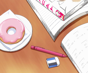 anime and donut image