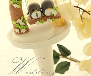 fimo, pinguin, and weeding image