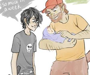 hedge, nico di angelo, and blood of olympus image