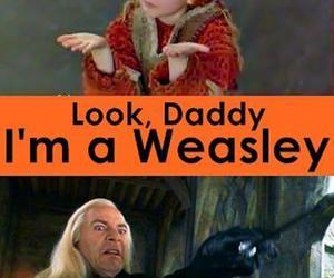 weasley, funny, and harry potter image