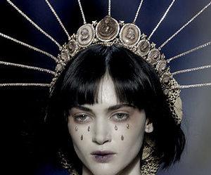 fashion, model, and makeup image