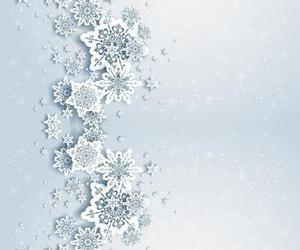 cool, snowflake, and wall image