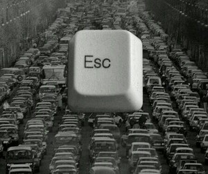 car, esc, and escape image