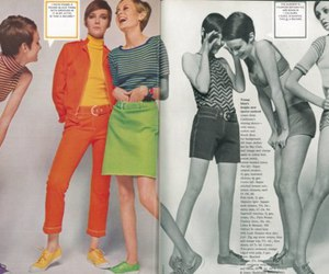 60's, model, and models image