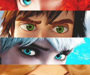 disney, eyes, and jack frost image