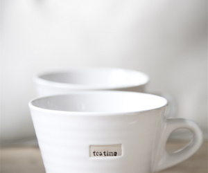 tea, cup, and white image