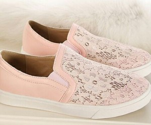elegant, pink, and shoes image