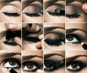 diy, eyes, and make up image