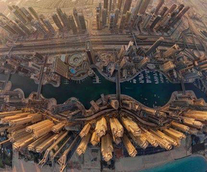 Dubai, city, and beautiful image